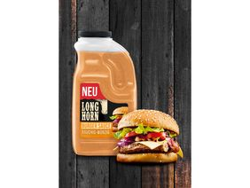 Neu: Bull's-Eye/LONGHORN Professional Burger Sauce. Foto: Mondelez International
