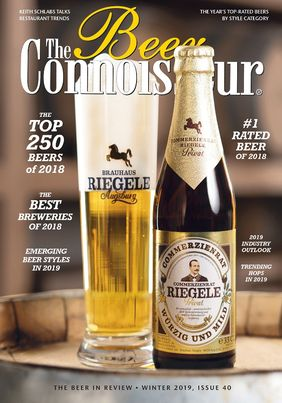 "Titelseite von ""The Beer Connoisseur"". Grafik: The Beer Connoisseur"
