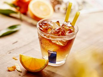 "Lavazza­-Sommerkreation ""Cold Brew Orange"". Foto: Luigi Lavazza Deutschland GmbH"