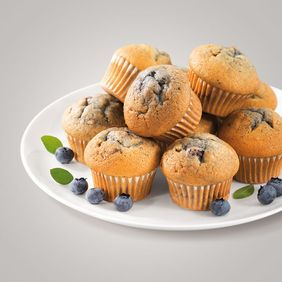 Blueberry-­Muffins. Foto: Dr. Oetker Professional